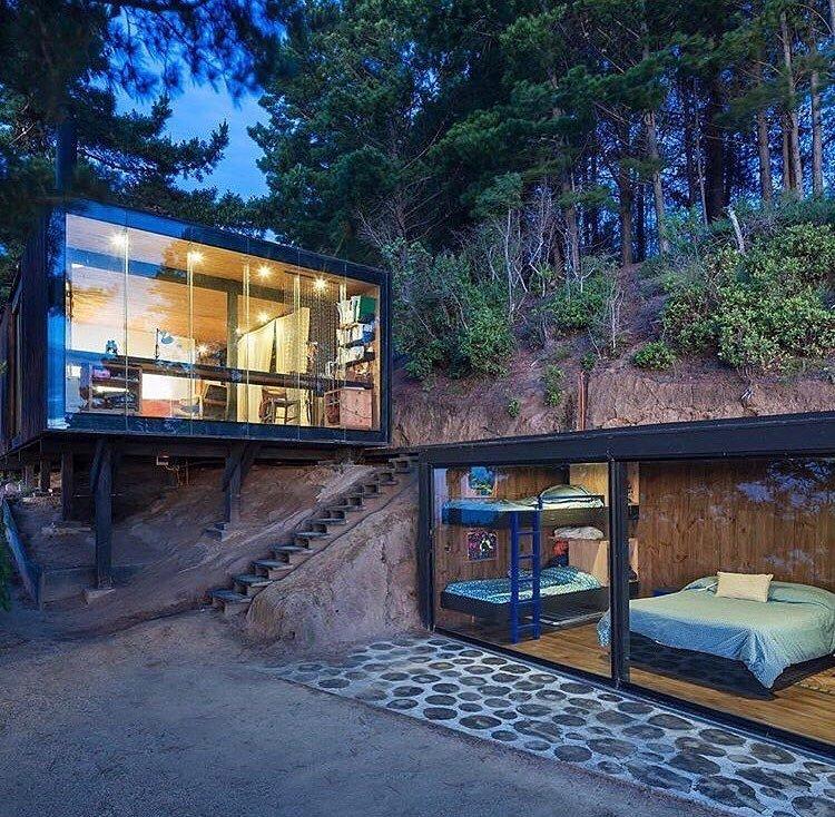Vacaciones modulares de verano Vacaciones modulares de verano casas contenedor de lujo precio box house 186