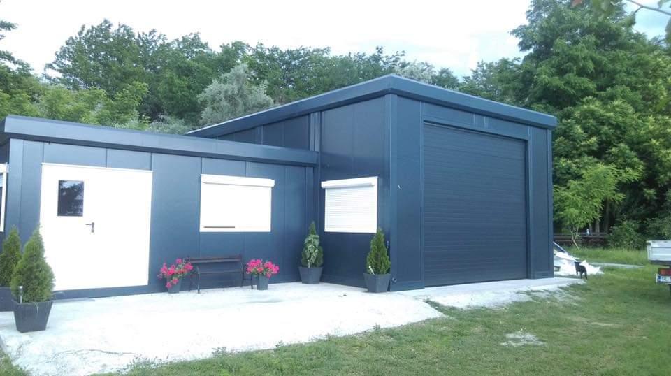 Casa modular sencilla con garaje Casa modular sencilla con garaje Casa modular sencilla con garaje 2