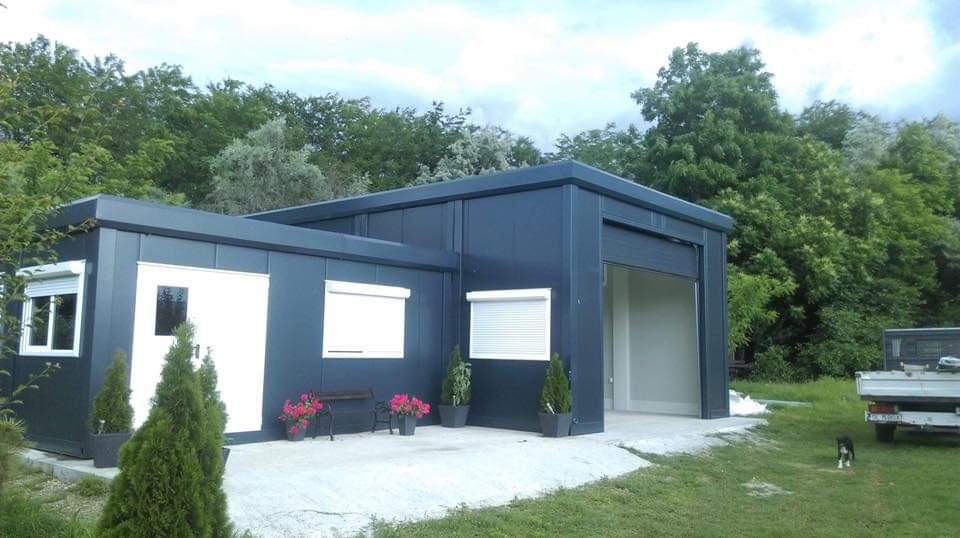 Casa modular sencilla con garaje Casa modular sencilla con garaje Casa modular sencilla con garaje 3